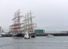 Festival de la navigation dans le port de Photographie stock libre de droits