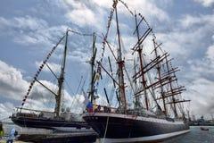 Festival de la navigation dans le port de Photographie stock