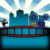 Festival de la película Imágenes de archivo libres de regalías