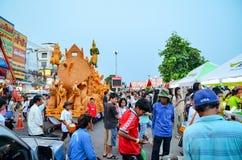 Festival de la vela el festival anual de Nakhon Ratchasima Foto de archivo