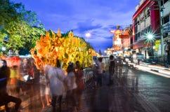 Festival de la vela el festival anual de Nakhon Ratchasima Foto de archivo libre de regalías