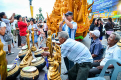 Festival de la vela el festival anual de Nakhon Ratchasima Fotos de archivo