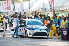 Festival de la velocidad de Saen de la explosión, Tailandia 2015 Imágenes de archivo libres de regalías