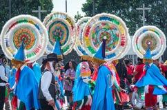 Festival de la Virgen de Guadalupe, México fotografía de archivo