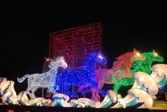 Festival de lanterna chinês do ano 2014 novo Fotografia de Stock