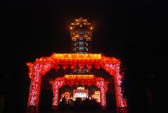 Festival de lanterna chinês do ano 2014 novo Fotografia de Stock Royalty Free