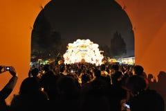 Festival de lanterna de 2013 chineses em Chengdu Imagens de Stock