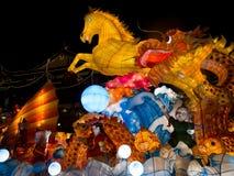 Festival de lanterna no ano novo chinês. 16 de fevereiro de 2014 Foto de Stock