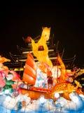 Festival de lanterna no ano novo chinês. 16 de fevereiro de 2014 Fotos de Stock Royalty Free