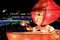 Festival de lanterna, Taipei, Taiwan imagens de stock