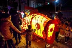 Festival de lanterna tradicional chinês Fotografia de Stock