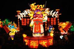 Festival de lanterne chinois de l'an 2012 neuf Photographie stock libre de droits