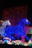 Festival de lanterne chinois de la nouvelle année 2014 Image stock