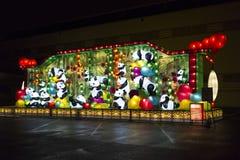 Festival de lanterne chinois de Vancouver au PNE images libres de droits
