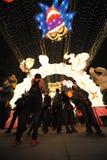Festival de lanterne de 2013 Chinois à Chengdu Images libres de droits
