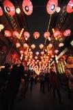 Festival de lanterne de 2013 Chinois à Chengdu Image libre de droits