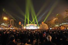 Festival de lanterne de 2013 Chinois à Chengdu Photographie stock
