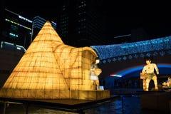Festival de lanterne de Séoul photographie stock