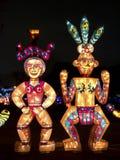Festival 2014 de lanterne de Taïpeh Images libres de droits