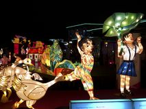 Festival 2014 de lanterne de Taïpeh Image stock