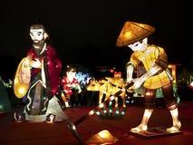 Festival 2014 de lanterne de Taïpeh Images stock