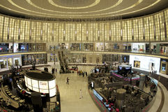 Festival de las compras de Dubai en la alameda de dubai Foto de archivo libre de regalías