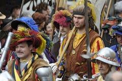 Festival de las Edades Medias Imagen de archivo libre de regalías