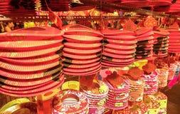 Festival de las linternas a mediados de otoño en Saigon, Vietnam Fotografía de archivo