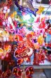 Festival de las linternas a mediados de otoño en Saigon, Vietnam Fotografía de archivo libre de regalías