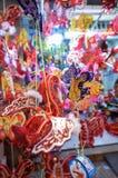 Festival de las linternas a mediados de otoño en Saigon, Vietnam Fotos de archivo libres de regalías