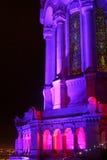 Festival de las luces 2009 en Lyon Fotos de archivo libres de regalías