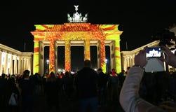 Festival de las luces Berlín Imagen de archivo