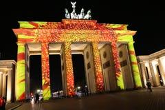 Festival de las luces Berlín Fotos de archivo libres de regalías
