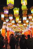 Festival de linterna chino del Año Nuevo 2012 Imágenes de archivo libres de regalías