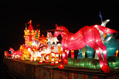 Festival de linterna chino del Año Nuevo 2014 Imagen de archivo