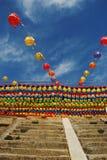 Festival de linterna, Corea Imágenes de archivo libres de regalías