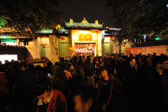 Festival de linterna de 2013 chinos en Chengdu Fotos de archivo libres de regalías