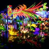 Festival de linterna en el ¼ Œ China de Zigongï Foto de archivo