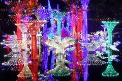Festival de linterna en el ¼ Œ China de Zigongï Fotos de archivo