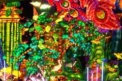 Festival de linterna en el ¼ ŒChina de Zigongï Imagen de archivo