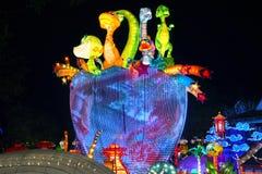 Festival de linterna en el ¼ Œ China de Zigongï Imagen de archivo