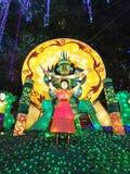 Festival de linterna en el ¼ Œ China de Zigongï Fotos de archivo libres de regalías