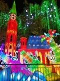 Festival de linterna en el ¼ Œ China de Zigongï Imágenes de archivo libres de regalías