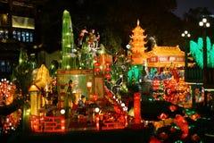 Festival de linterna en el Año Nuevo chino Foto de archivo libre de regalías