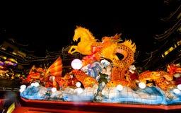 Festival de linterna en el Año Nuevo chino. 16 de febrero de 2014 Fotos de archivo