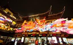 Festival de linterna en el Año Nuevo chino. 16 de febrero de 2014 Foto de archivo libre de regalías