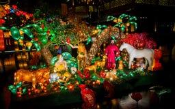 Festival de linterna en el Año Nuevo chino. 16 de febrero de 2014 Imagenes de archivo