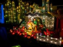 Festival de linterna en el Año Nuevo chino. 16 de febrero de 2014 Imágenes de archivo libres de regalías