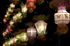 Festival de linterna en Singapur Imagenes de archivo