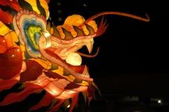 Festival de linterna en Singapur, dragón Fotos de archivo